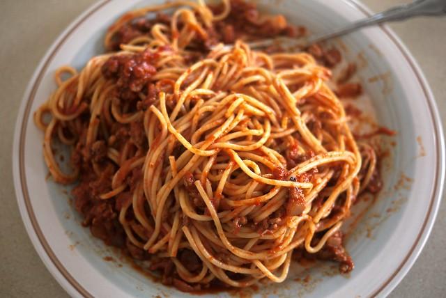Homemade Spaghetti