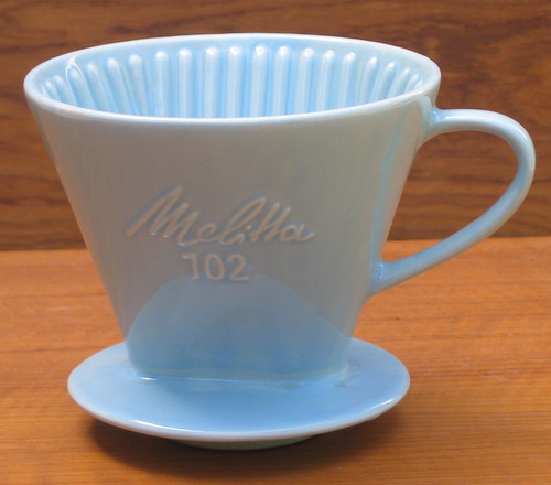 MELITTA 102 CERAMIC CONE ROBIN EGG BLUE
