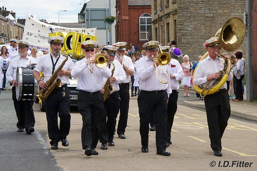 Horwich Carnival 2011 - Red Rose Marching Band