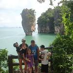 James Bond Island during a private Phang Nga Bay Tours