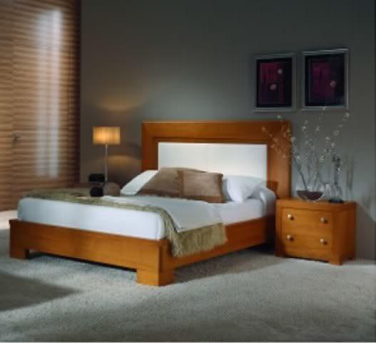 Dise os camas matrimoniales madera imagui for Modelos de dormitorios matrimoniales