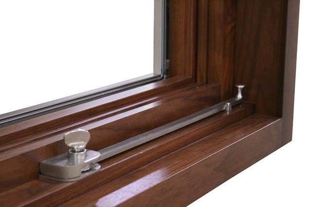 Awning Push Bar : Custom awning wood window with push bar hardware explore
