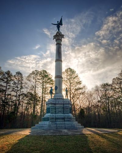 war battle civil states battlefield between chickamauga stateofgeorgia georgiamonument chickmauga chickmauganationalmilitarypark cwt1863