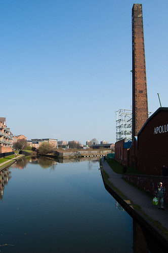 Canal junction - Walsall canal