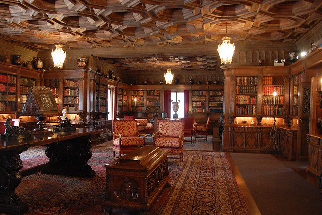 Hearst Castle Library Interior Flickr Photo Sharing