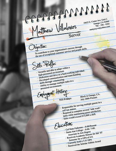 Resume Serving