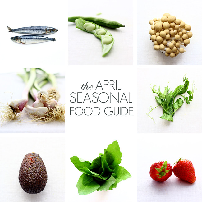 The April Seasonal Food Guide