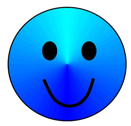 Blue Smiley Face Logo Blue Smiley Face Clip Art