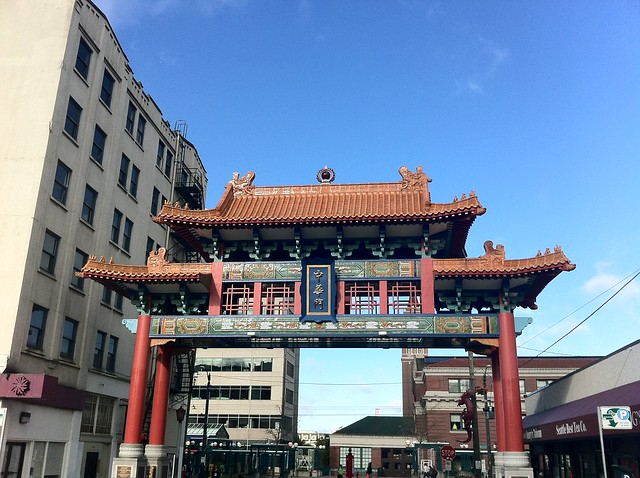 Gate to Seattle Chinatown