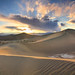 Heavenly Dunes In Death Valley by Laura A Knauth