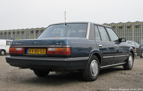 Toyota Crown Super Saloon automatic 1984