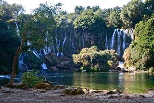 waterfall in bosnia