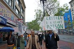 Free Eritrea democracy march in San Francisco 47