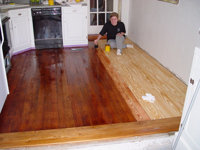 Kitchen Table Bare Wood Vs Oil Or Wax