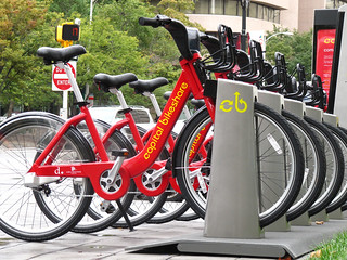 Capital Bikeshare, DC (by: James D. Schwartz, creative commons)