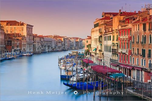 Sunrise Grand Canal - Venice