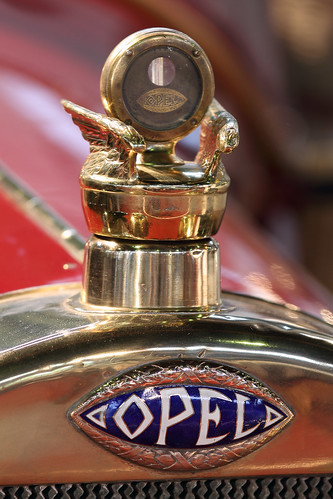 Opel Torpedo bonnet ornament