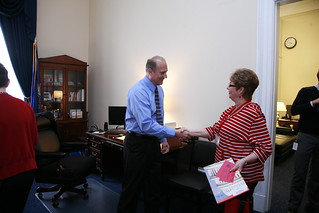 Pennsylvania delegation meets with Congressman Tom Marino.
