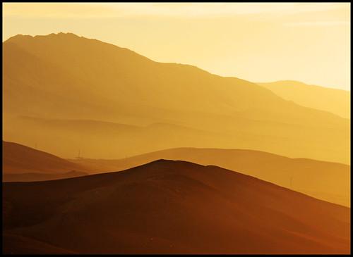 sky sunlight desert stripes syria palmyra