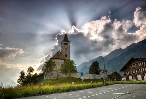 Old Church, Brienz.