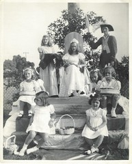 1949 - Crowning the May Queen - Byrd Park, Richmond, Virginia