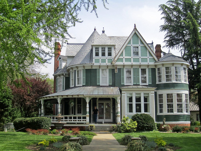 Queen Anne Style House Centreville Maryland Flickr Photo Sharing