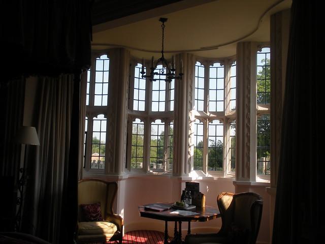 Sixteenth-century window in Mary Tudor's room at Thornbury Castle