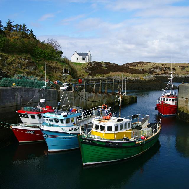 Grimsay Harbour