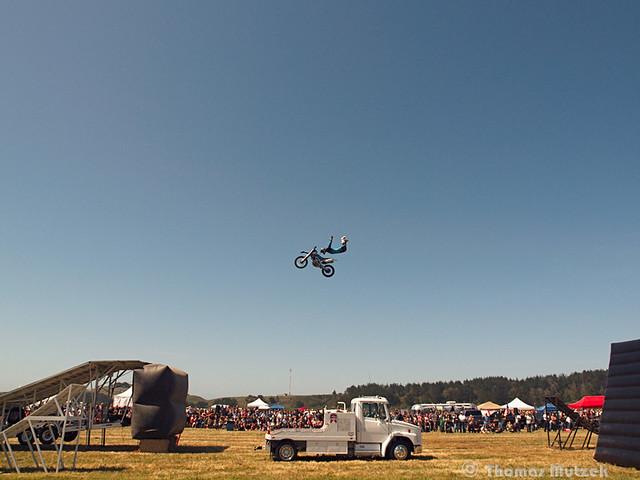 Motorcyle Stunt