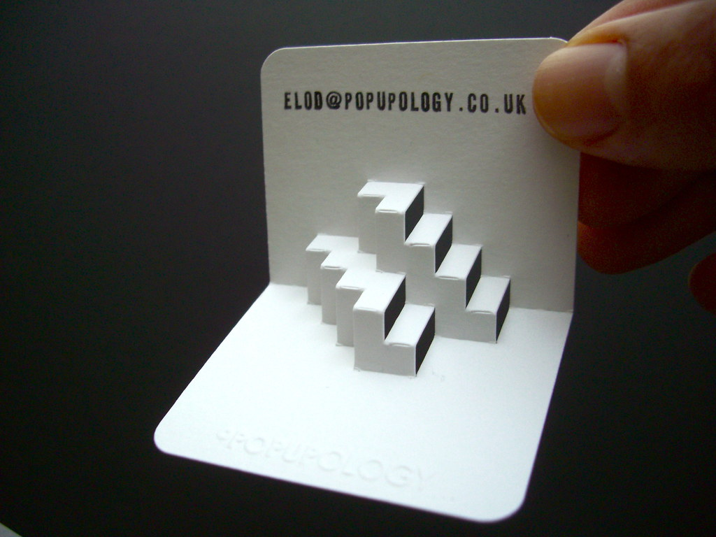 3-d business card series X - inverted steps - a photo on Flickriver