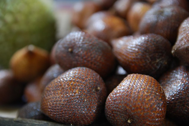 Salak close-up - Ubud Market
