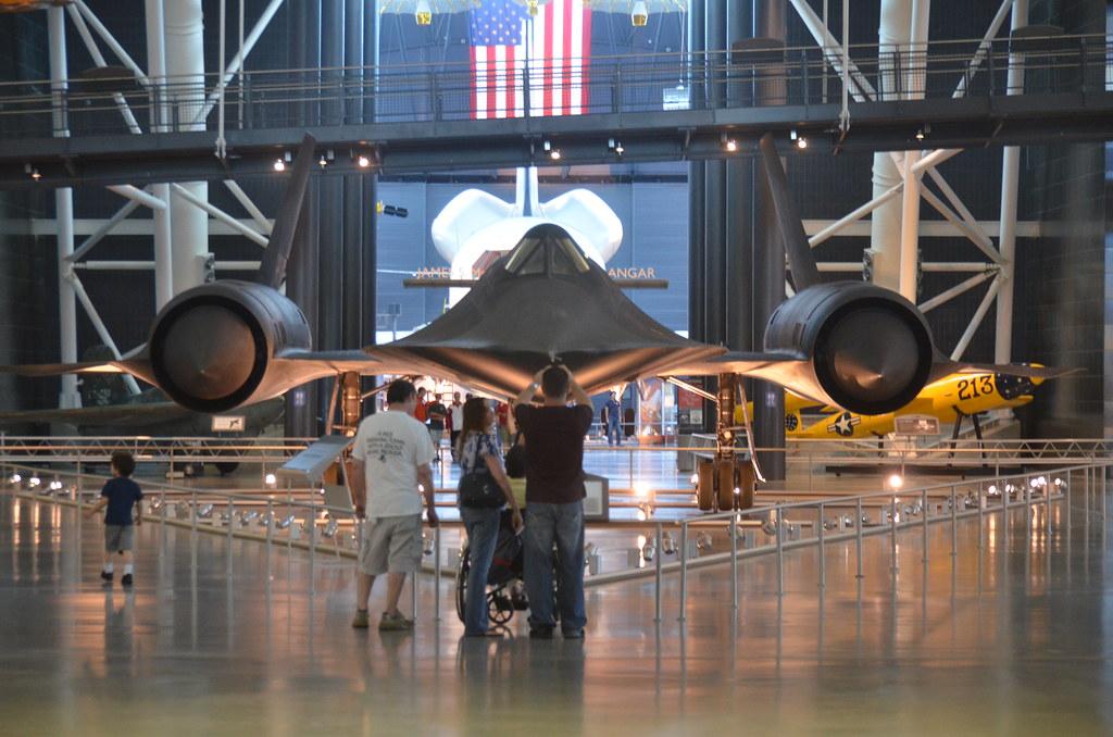 Steven F. Udvar-Hazy Center: SR-71 Blackbird and Space ...