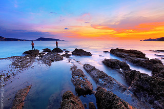 Kalim Beach Sunset  - thailand