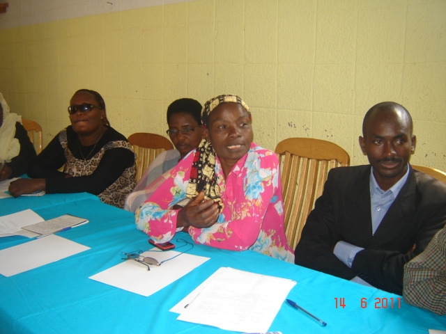 Week of Action Against Gun Violence 2011 - Burundi - Conference and Discussion Group