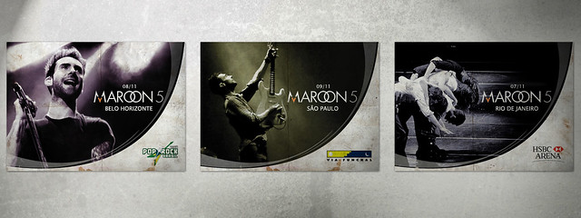 Banners Maroon 5