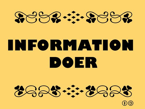 Buzzword Bingo: Information Doer