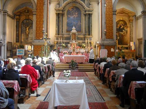 Visita pastorale a San Luca