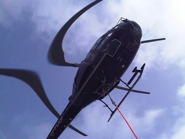 Bendy Helicopter Blades