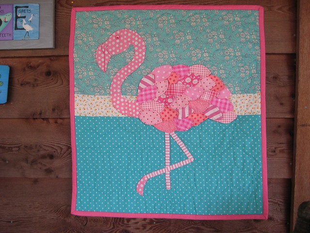 Dqs 10 Flamingo Quilt Made By Lululollylegs Flickr