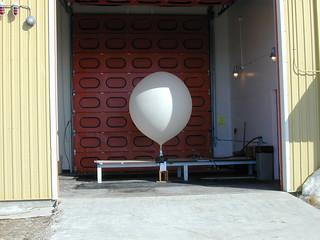 Hydrogen ballon