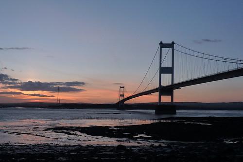Aust - Severn Sunset
