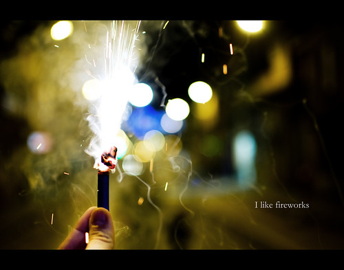 I like fireworks