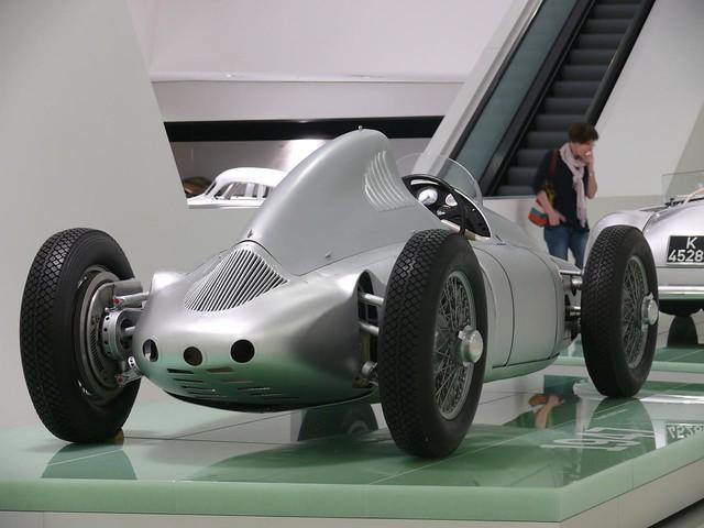Porsche Typ 360 Cisitalia silver 1947 hr