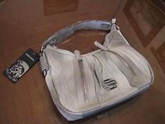 DIESEL bolso gris 2