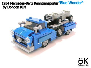 "1954 Mercedes-Benz ""Blue Wonder"""