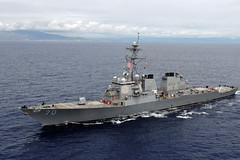 USS Hopper (DDG 70) file photo. (U.S. Navy/MC2 Jon Dasbach)