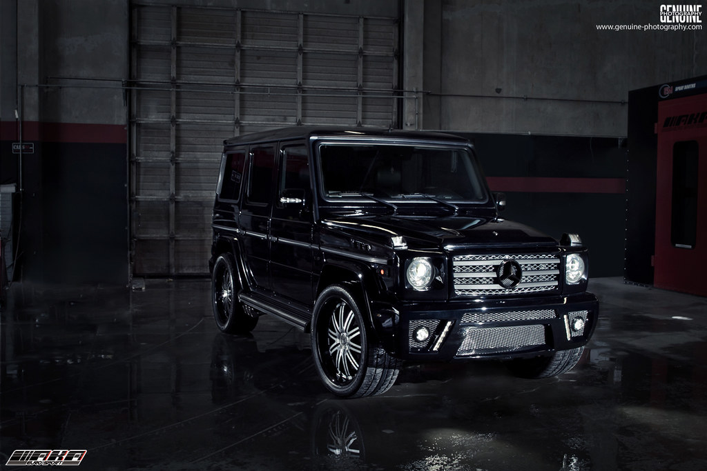 Photo of the day custom mercedes benz g class bodykit for Mercedes benz g class custom