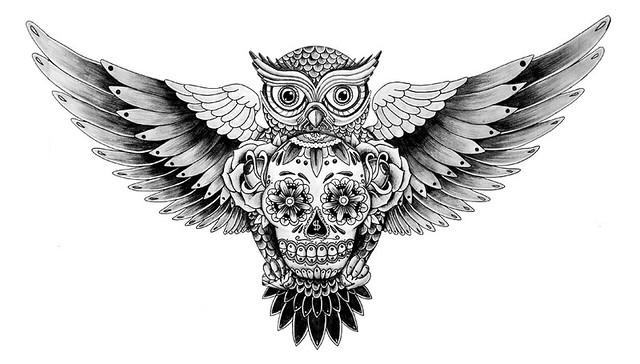 Owl&Skull - For Barry
