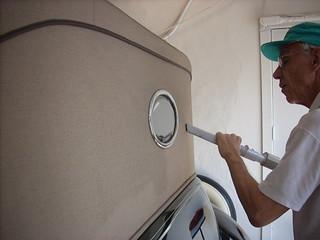 Volunteer Dick Carroll, April 20, 2011 kls 027