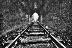 Inside Old Helensburg Tunnel (HDR)